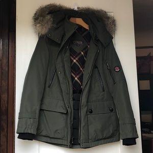 Pendleton Down Jacket Olive Size Medium
